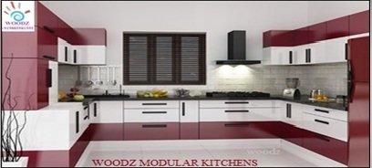 Bon U Shaped Modular Kitchen