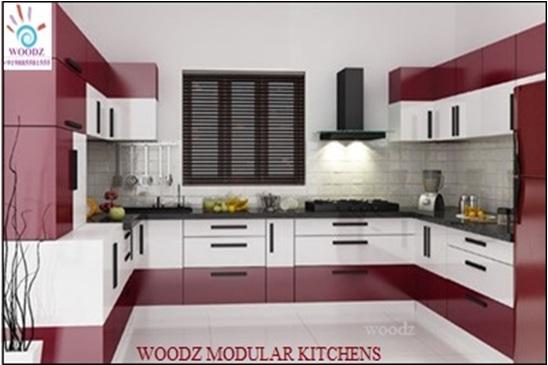 Woodz Modular Kitchen Vijayawada Kitchen Designs and Cabinets in